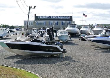 Brennan Boat boatyard