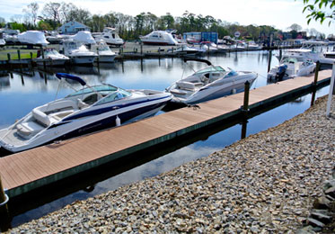 Brennan Boat marina slips
