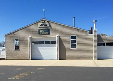 Brennan boat repair shop