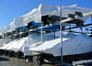 Brennan Boat marina rack storage