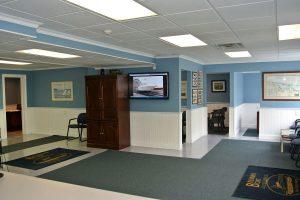 interior office brennan boat
