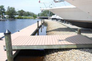 new dock at brennan boat marina