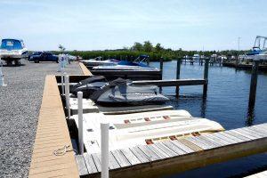 dockside of brennan boat marina