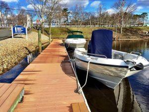dockside at brennan boat marina