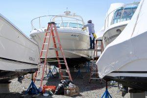 detailing boat for spring